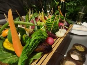 エンボカの温野菜の盛り合わせ!