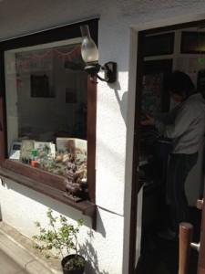 西荻窪のモイスェン (Maeuschen) の入り口