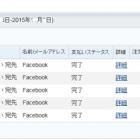 paypal(ペイパル)アカウントが乗っ取られ、Facebookより多額の請求が・・