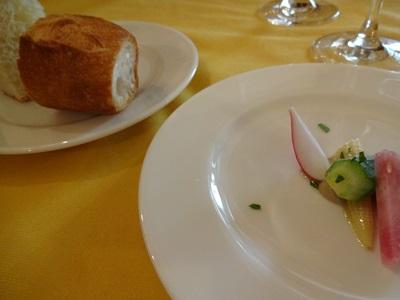 20130824 006 インシエメの料理