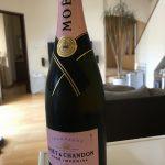 モエ・エ・シャンドン ロゼ アンペリアルで退職祝い!乾杯!